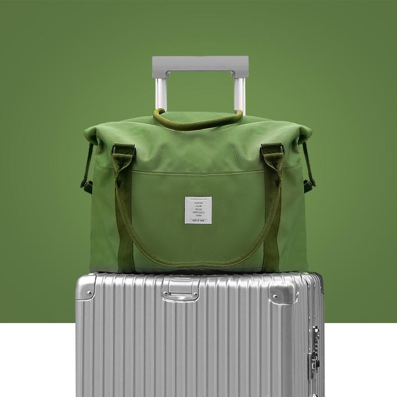 Travel Bag Hand Bag Online Celebrity One-Shoulder Short Trip Canvas Travelling Bag Female Large Capacity Shoulder Storgage Bag Male