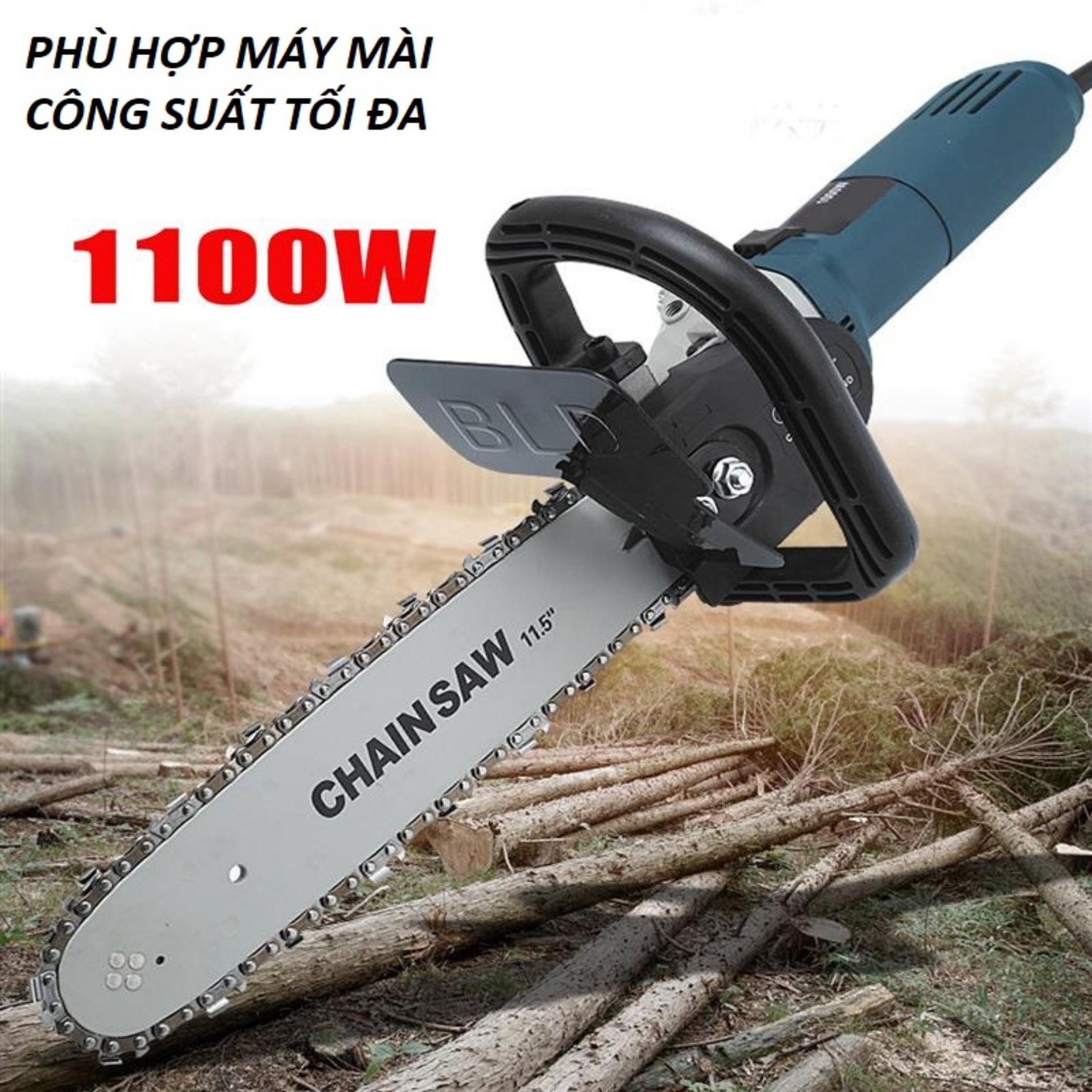 Hình ảnh Bộ lam cưa xích dùng cho máy mài cắt cầm tay giá rẻ - phụ kiện của cưa tay cắt gỗ