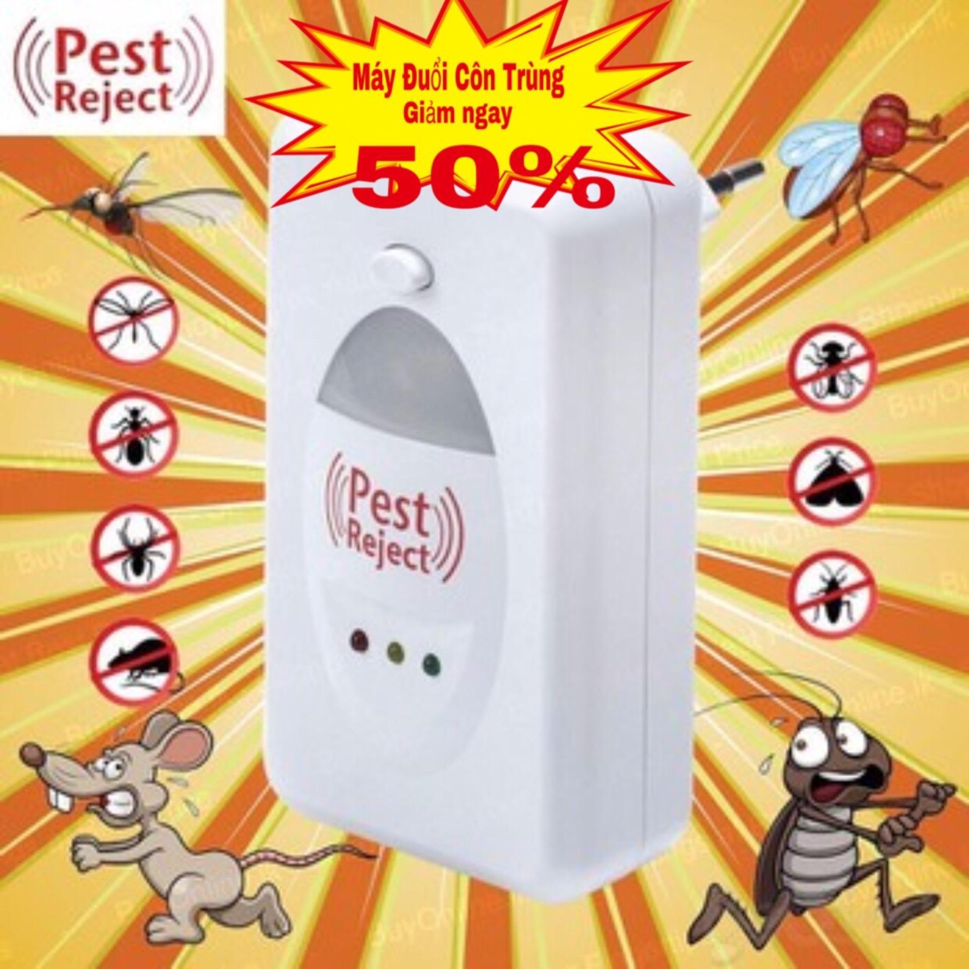 Hình ảnh May Diet Muoi,Máy Đuổi Côn Trùng Bk3 Pest Reject - Đuổi Chuột, Muỗi, Rệp, Kiến V.V Đặc Biệt Không Gây Hại Cho Gia Đình Bạn- Ms 3590