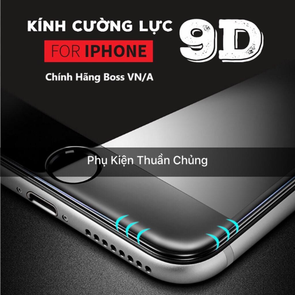 Hình ảnh Kính cường lực 9D full màn hình Iphone 6,6s,7,8,x,6p,6sp,7p,8p,X trắng