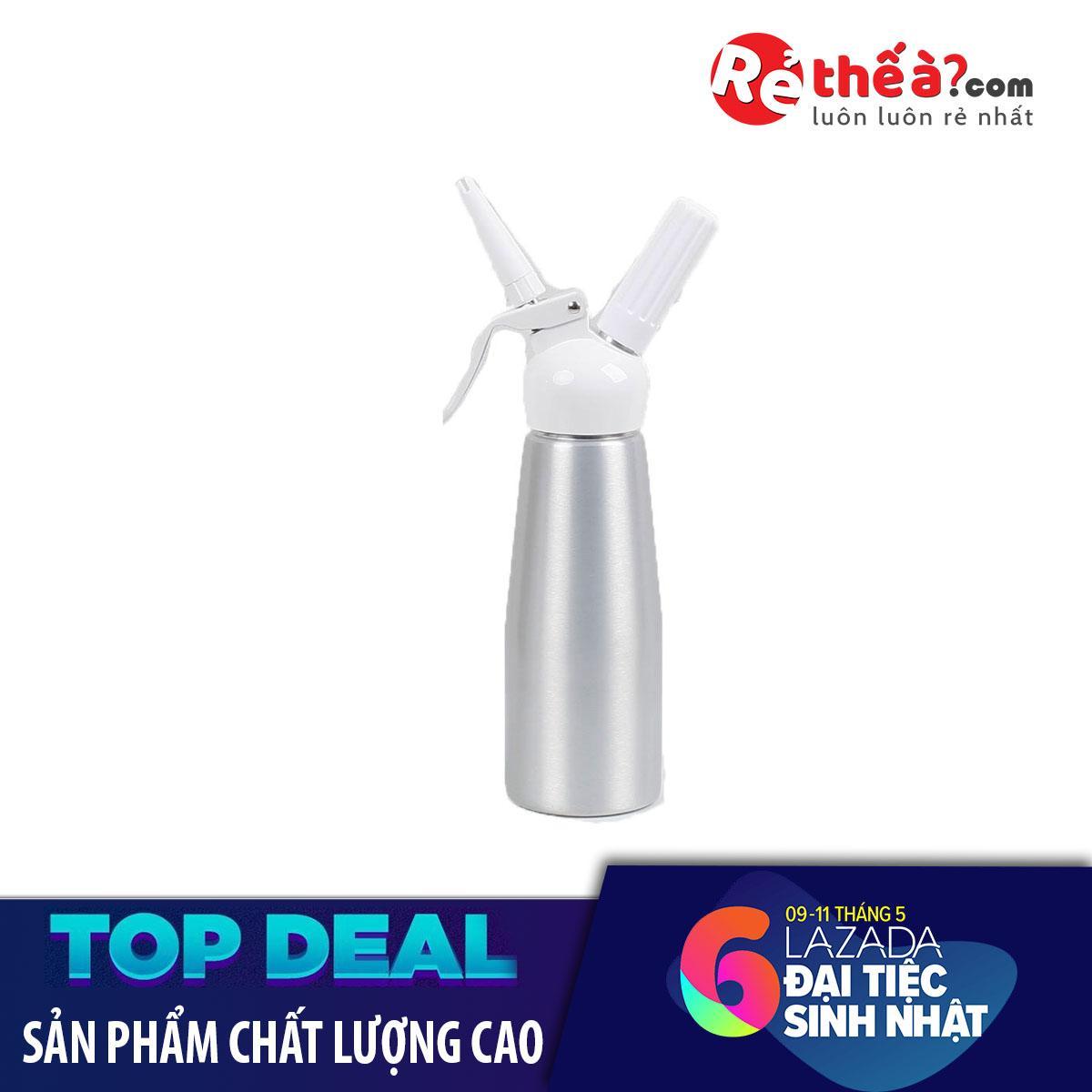 Bán Binh Xịt Kem Mosa 5L Cổ Nhựa Mau Bạc Tặng Kem Một Ca Đong Nhựa 250Ml Rẻ Nhất