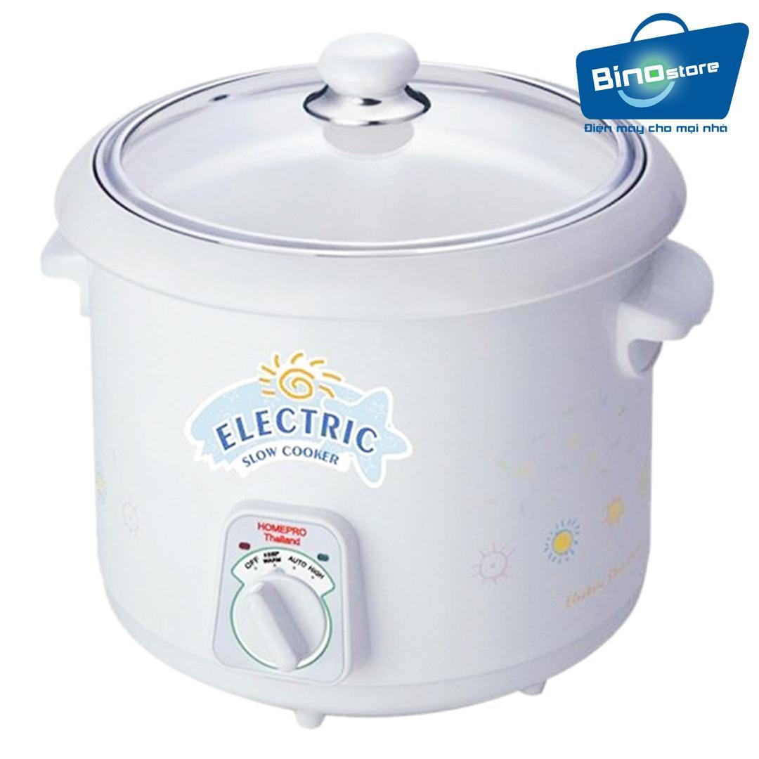 Hình ảnh Nồi nấu chậm đa năng Thái Lan Electric Slow Cooker HomePro 3L