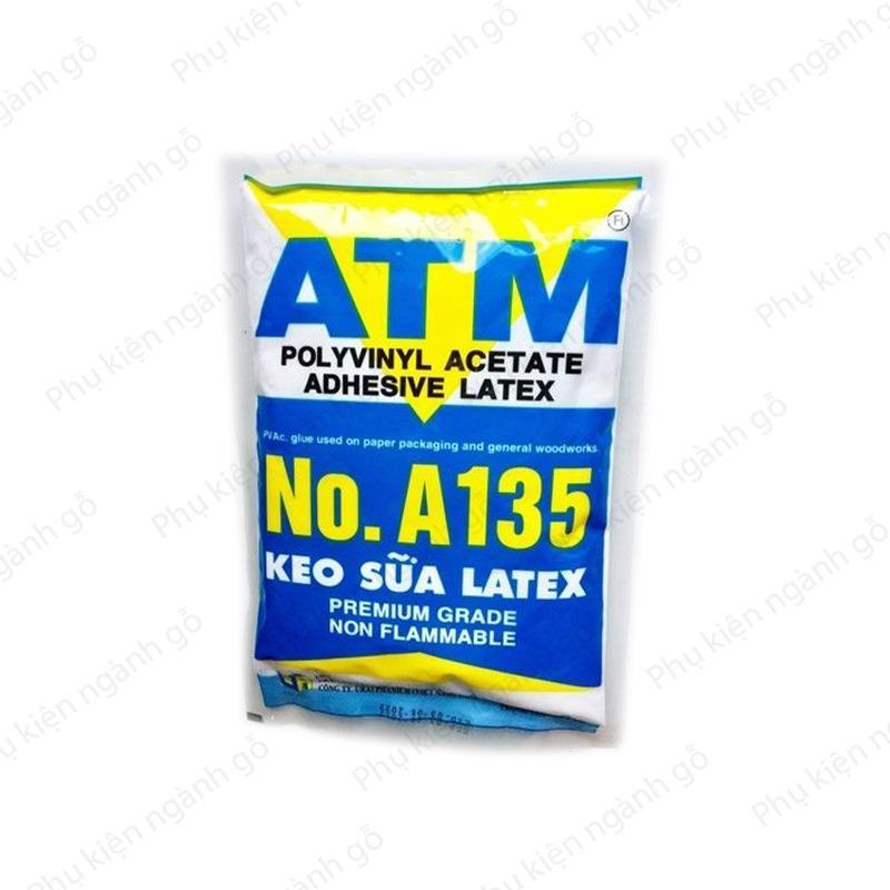 Hình ảnh Keo sữa đa năng dán giấy, gỗ, simili ATM A135