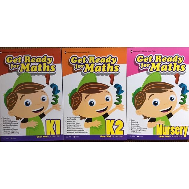 Mua Get ready for maths ( dành cho t từ 4-6 tuổi)