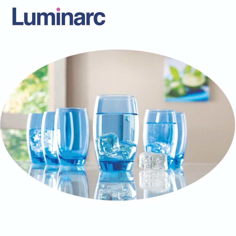 Bán Bộ 6 Ly Thủy Tinh Cao Luminarc Salto Ice Blue 350Ml J1585 Hồ Chí Minh Rẻ