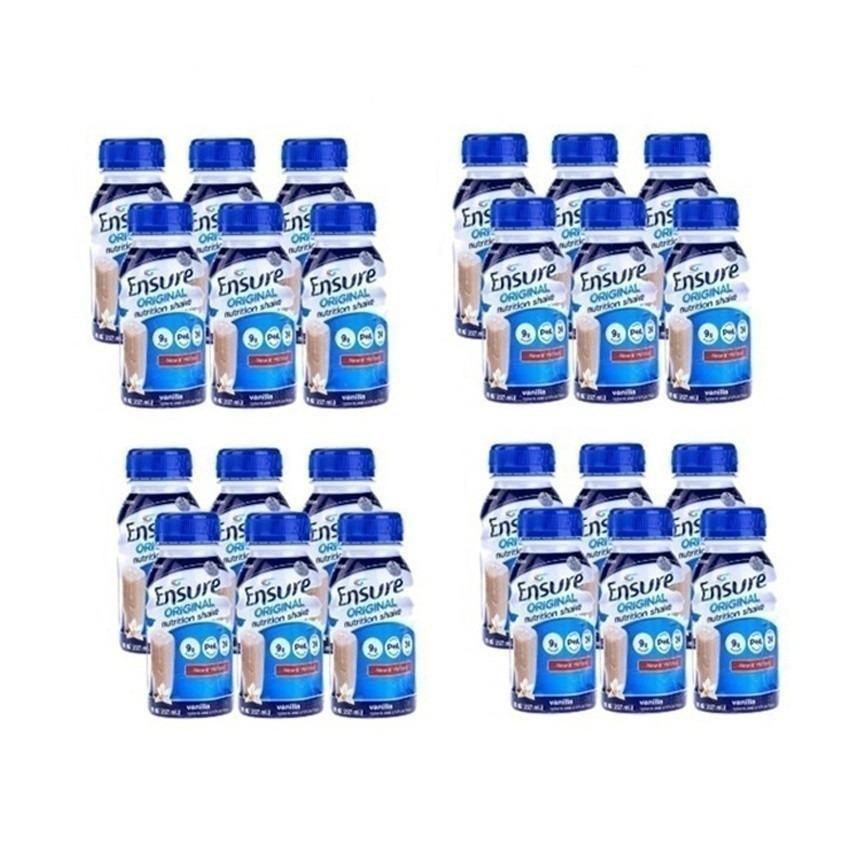 Hình ảnh Thùng 24 chai sữa nước Ensure Vani 237ml