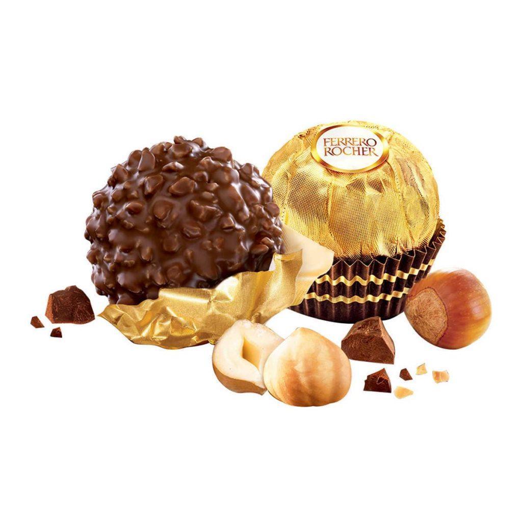 Hộp Socola cao cấp của Mỹ Ferrero Rocher Chocolate 48 viên 600g