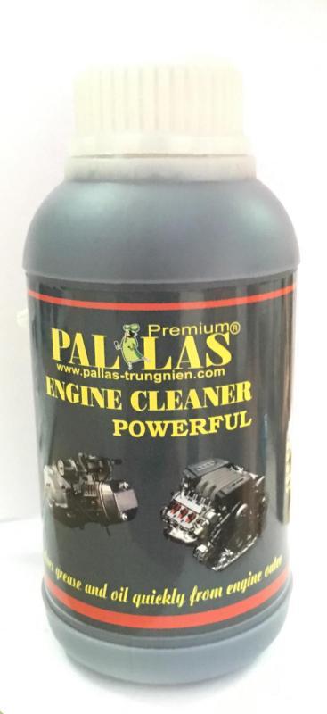 Dung dịch rửa lóc máy cực mạnh Pallas Engine Cleaner Powerful 500ml