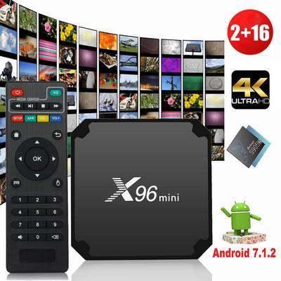 Hình ảnh Android TV Box X96 mini phiên bản cao nhất 2G ram và 16G bộ nhớ trong