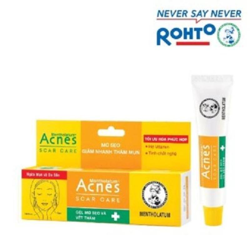 Combo 3 tuýp Gel mờ sẹo và vết thâm acnes
