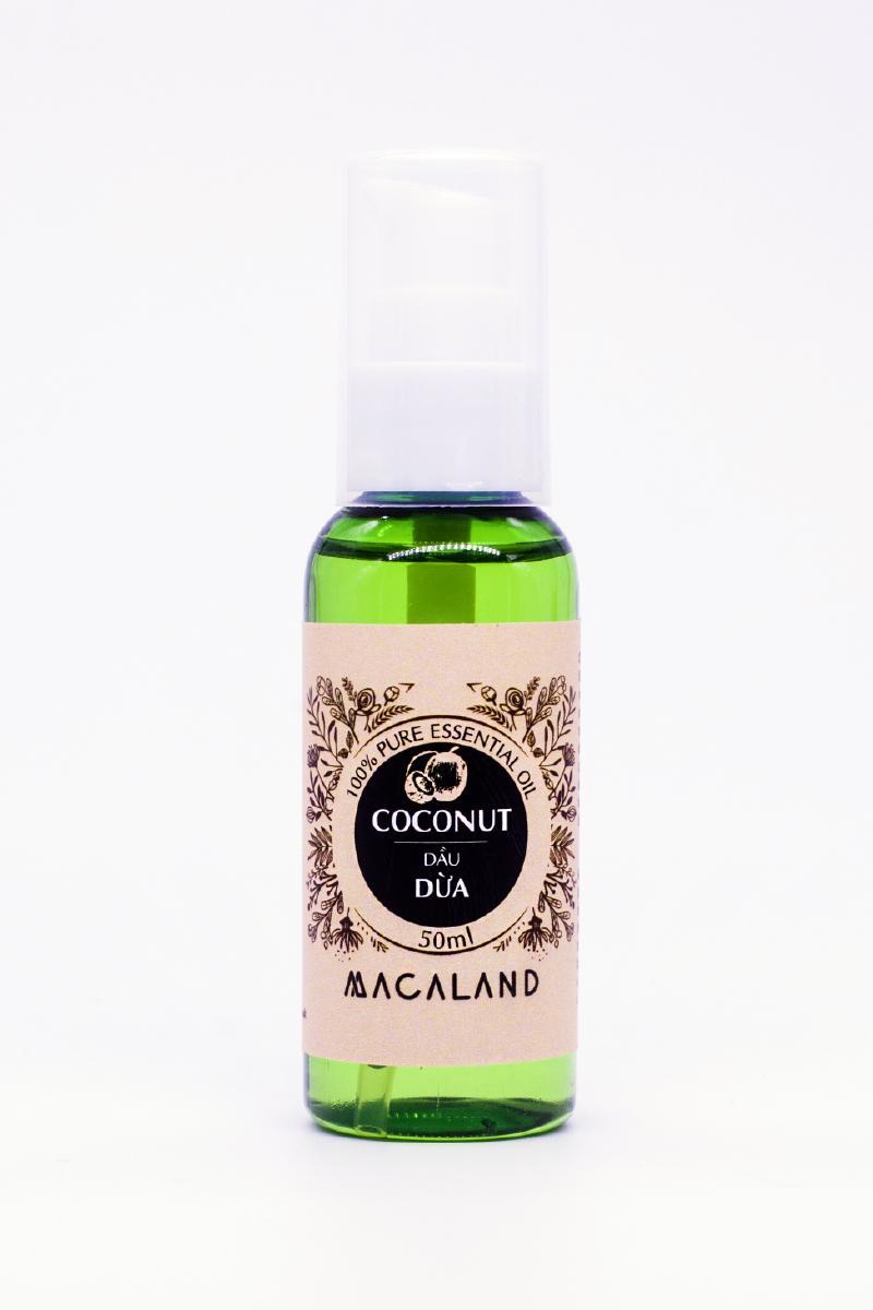 Dầu Nguyên Chất Dừa Macaland Natural Cosmetics 50ml