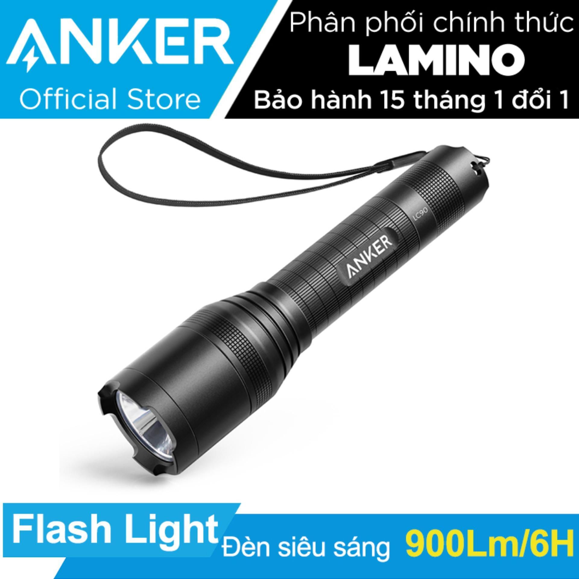 Giá Bán Đen Pin Sieu Sang Anker Lc90 Flashlight Đen Hang Phan Phối Chinh Thức