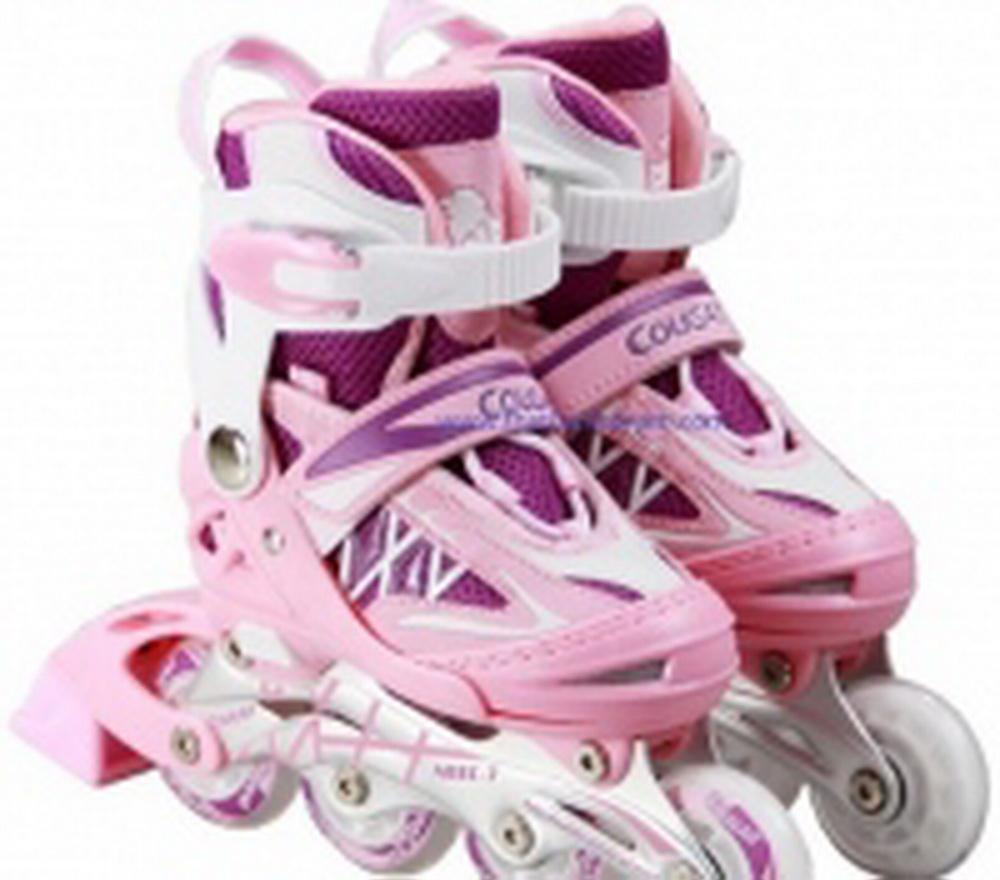 Giày trượt Patin Cougar MS835-L12 Hồng phối Trắng ( Size 34-37 )