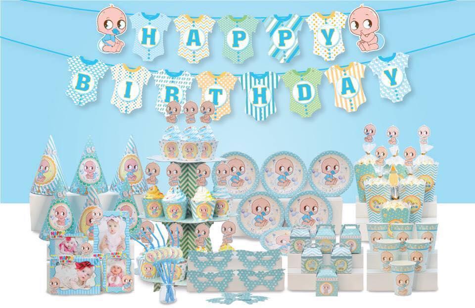 Hình ảnh set trang trí sinh nhật theo chủ đề BOY