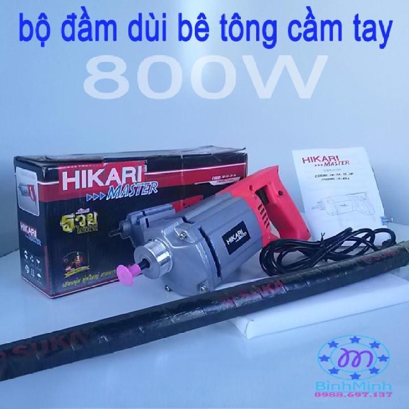 bộ máy đầm dùi bê tông cầm tay HIKARI-TháiLan V-45a 800W