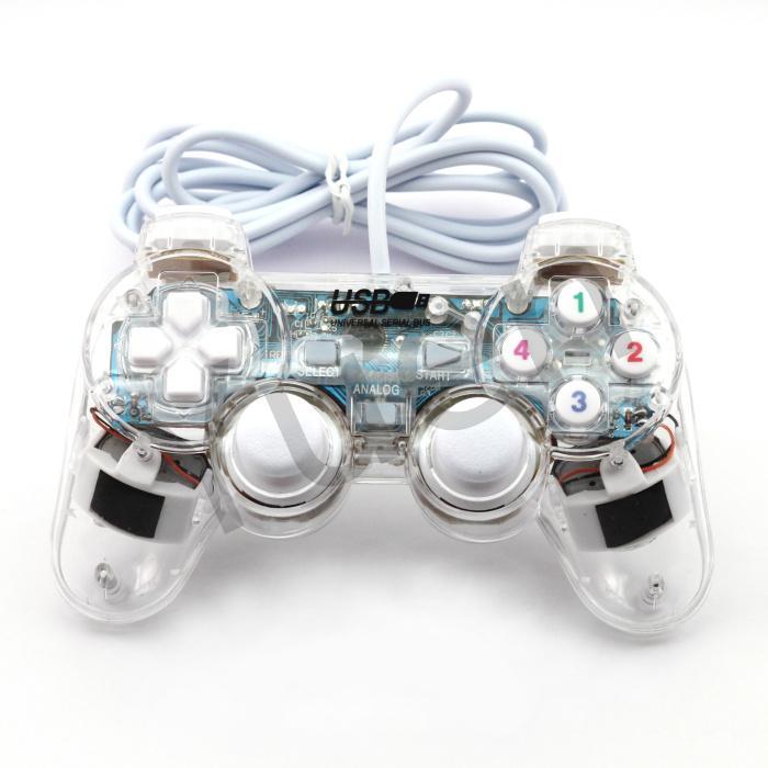 Hình ảnh TAY CẦM CHƠI GAME CHO MÁY TÍNH ĐẦU USB 2.0