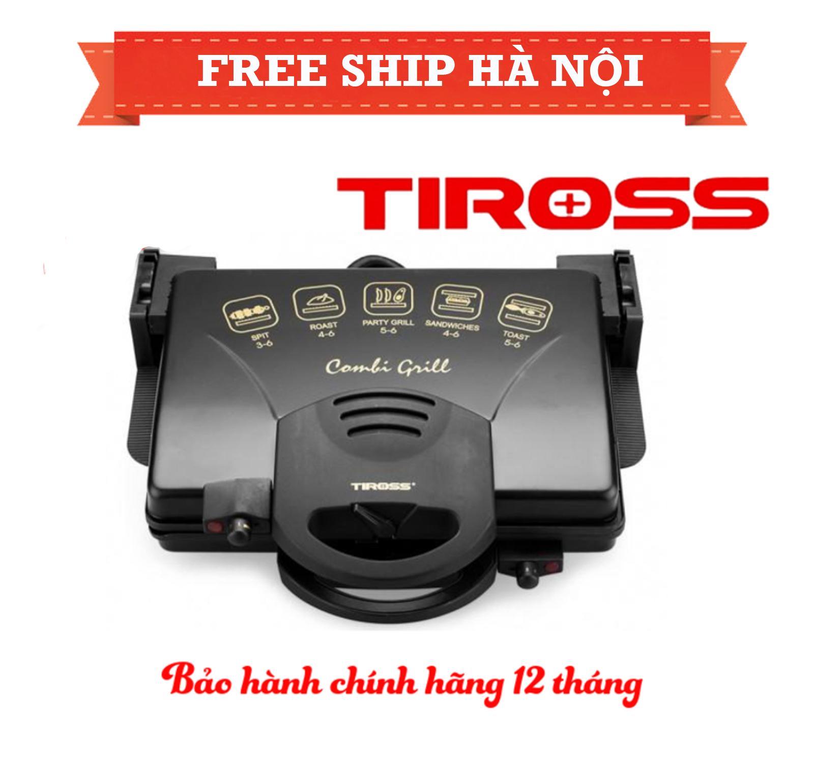 Hình ảnh Máy kẹp bánh mỳ đa năng nhập khẩu chính hãng Tiross TS965