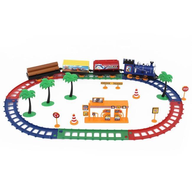 Hình ảnh Bộ đồ chơi xe lửa chạy pin