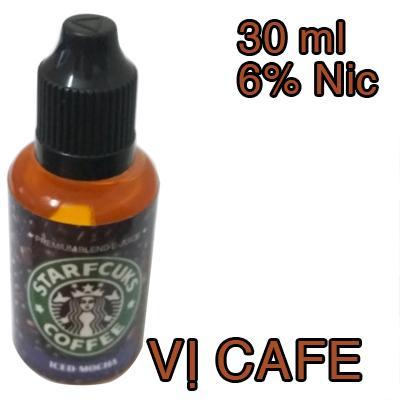 Hình ảnh Tinh dầu vị cafe 30ml 6mg - Sử dụng cho Vape