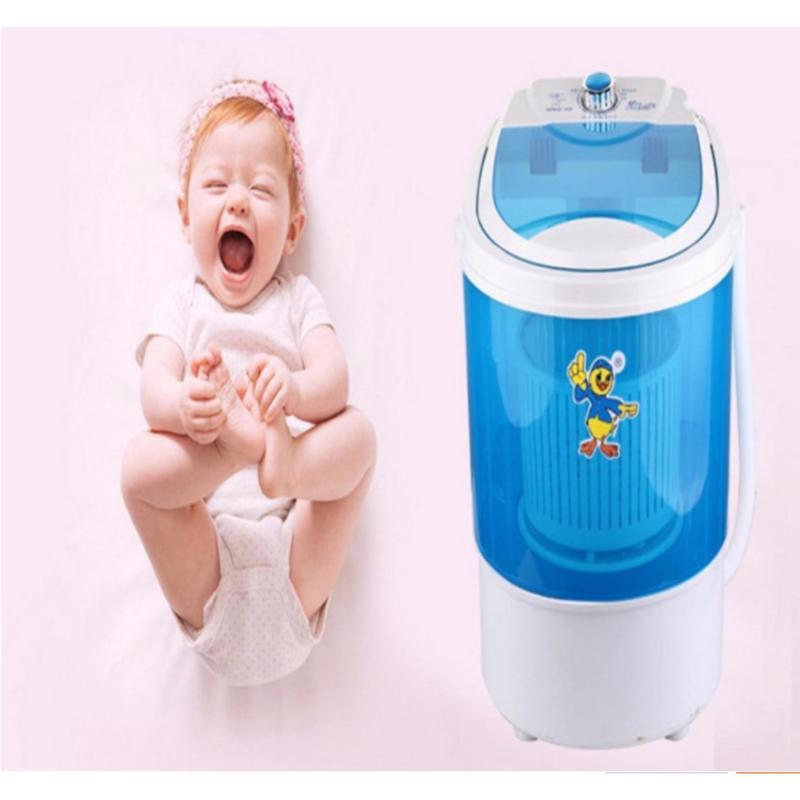 Máy giặt mini cho bé nhỏ gọn tiện lợi 4.5kg 2017