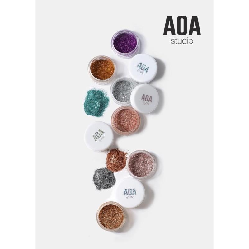BỘT KIM TUYẾN AOA CRYSTAL POWDER nhập khẩu