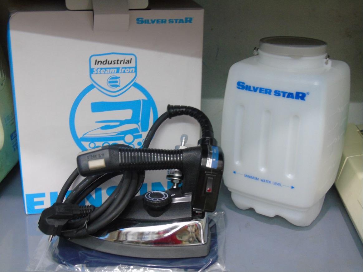 Hình ảnh Bàn ủi công nghiệp Silver Star ES-94A loại 1 tặng tất là trị giá 90k
