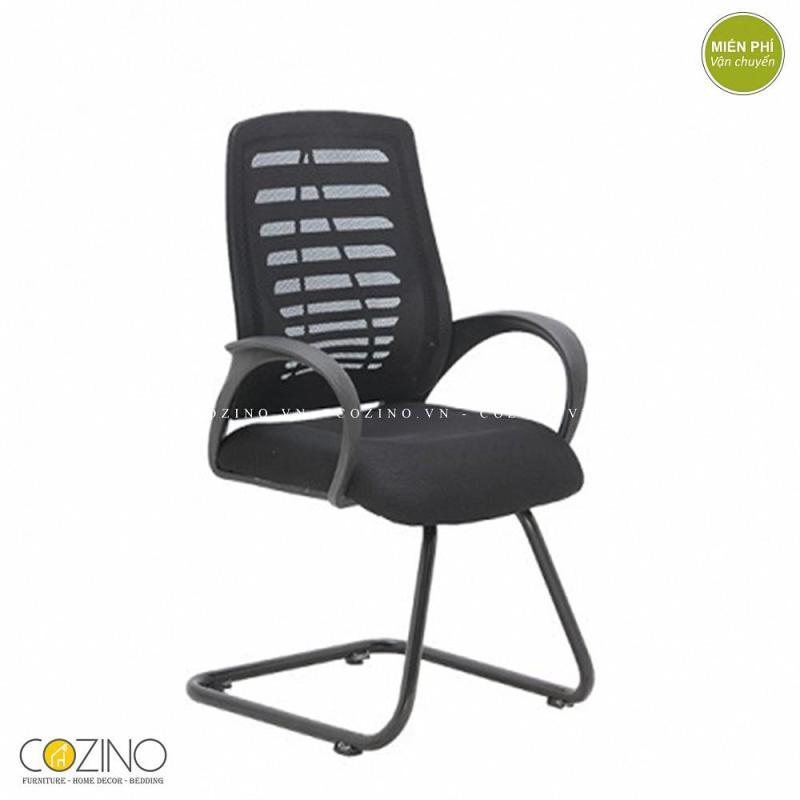 Ghế lưới CZN503 chân quỳ màu đen giá rẻ