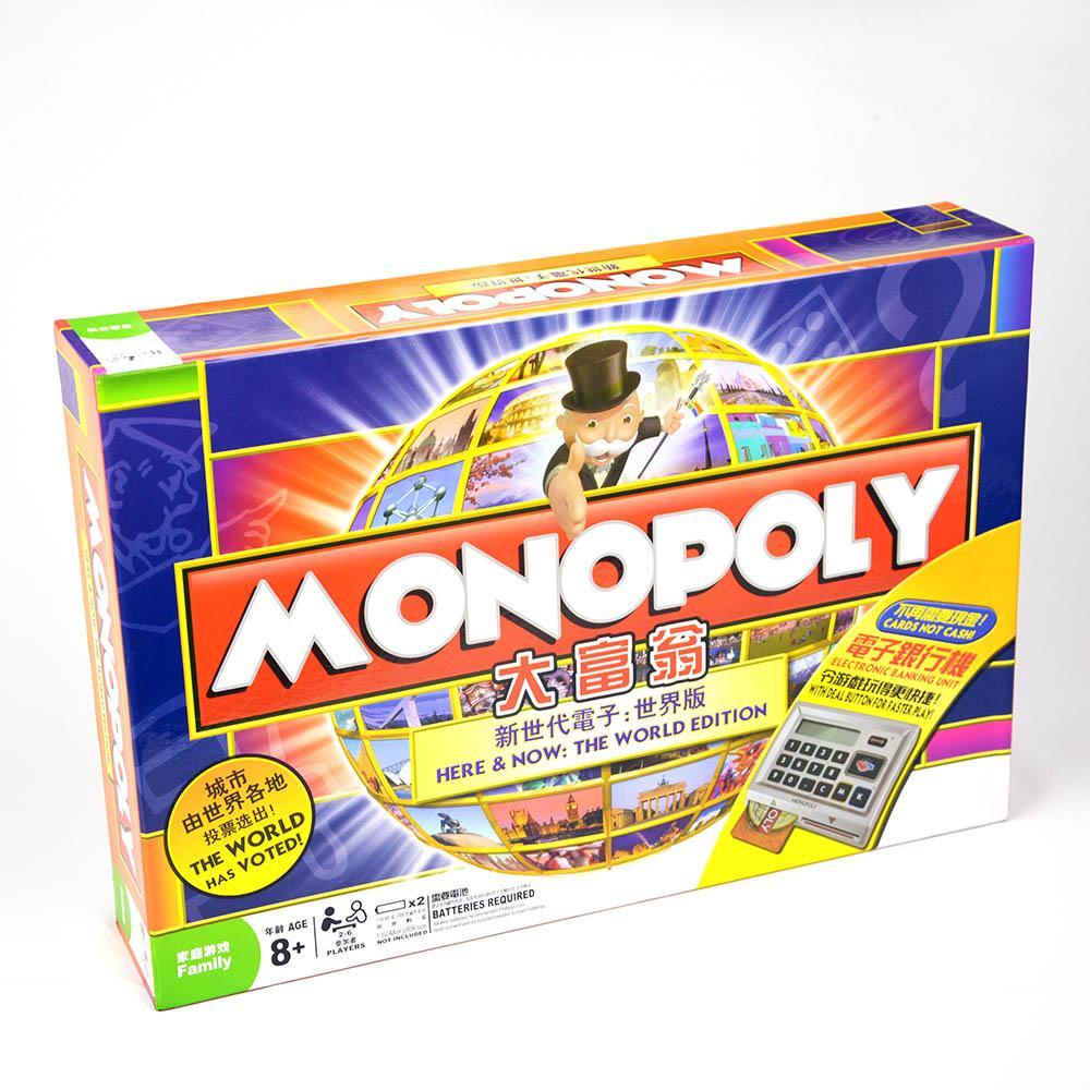 Hình ảnh Cờ Tỷ Phú Monopoly Here & Now - The World Edition