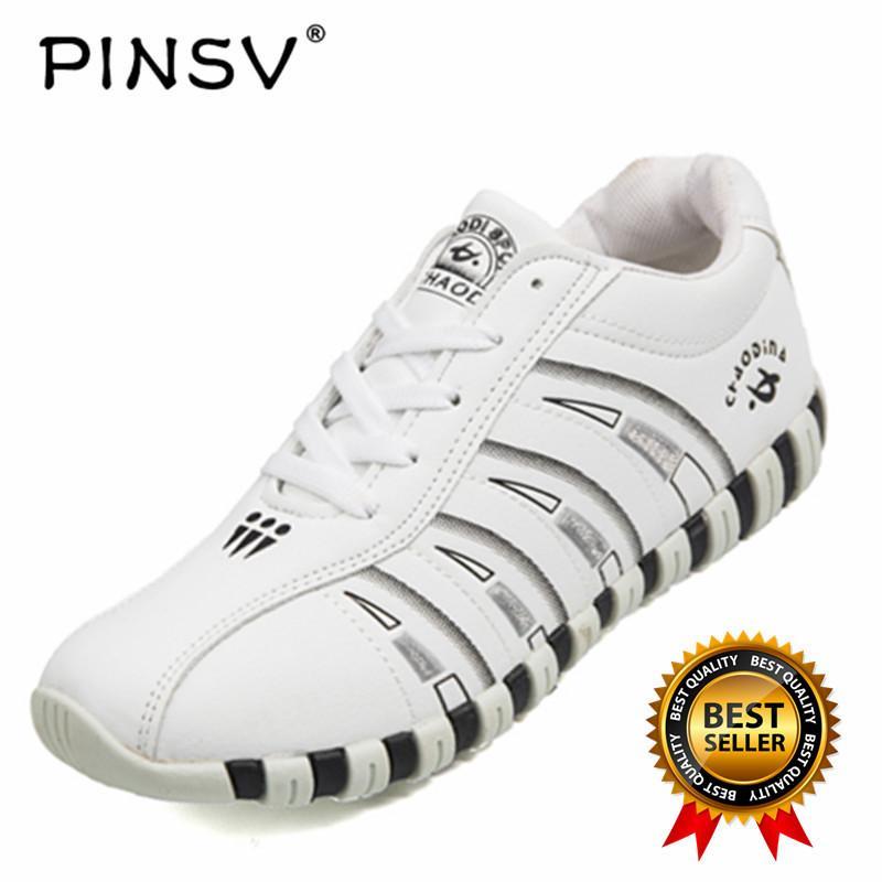 PINSV Wanita Sport Sepatu Bulutangkis Sepatu (Putih)-Intl e82a47f473