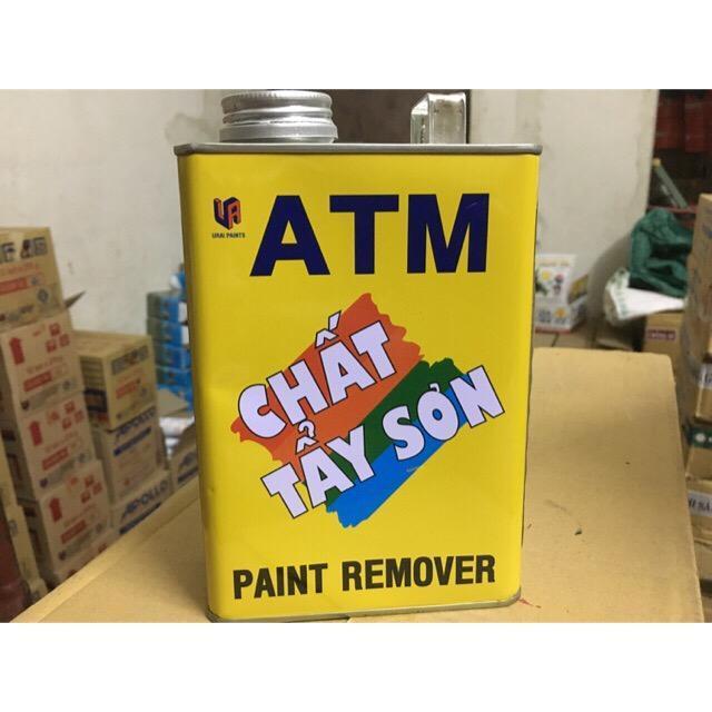 Hình ảnh Tẩy sơn ATM trên mọi chất liệu