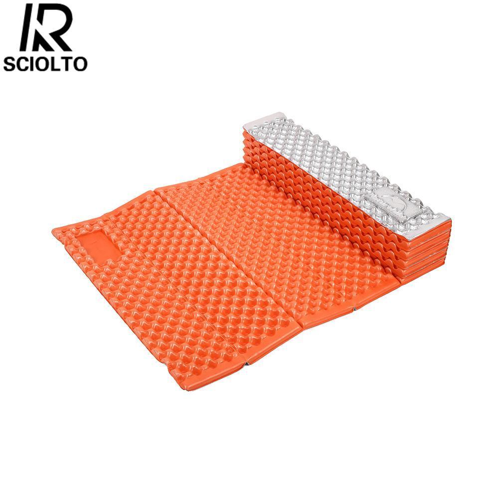 Hình ảnh SCIOLTO SPORTS Outdoor Moistureproof Folding Picnic Mat Beach Mat Camping Mattress Pad Yoga Mat - intl