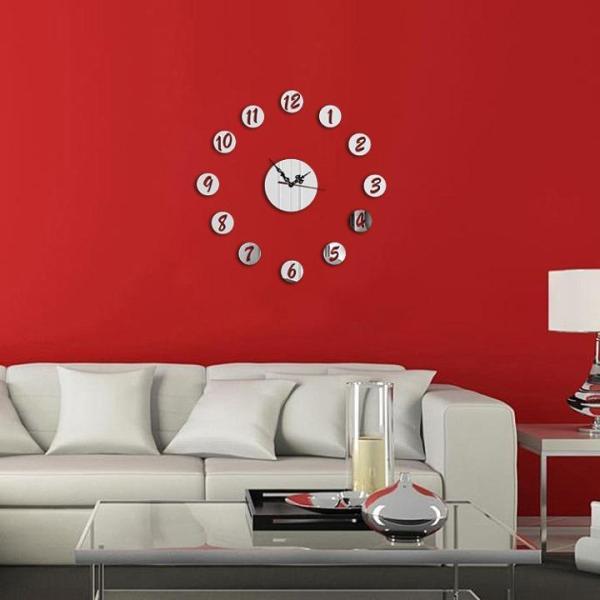 Đồng hồ dán tường nghệ thuật DIY - 12 Số Tròn bán chạy
