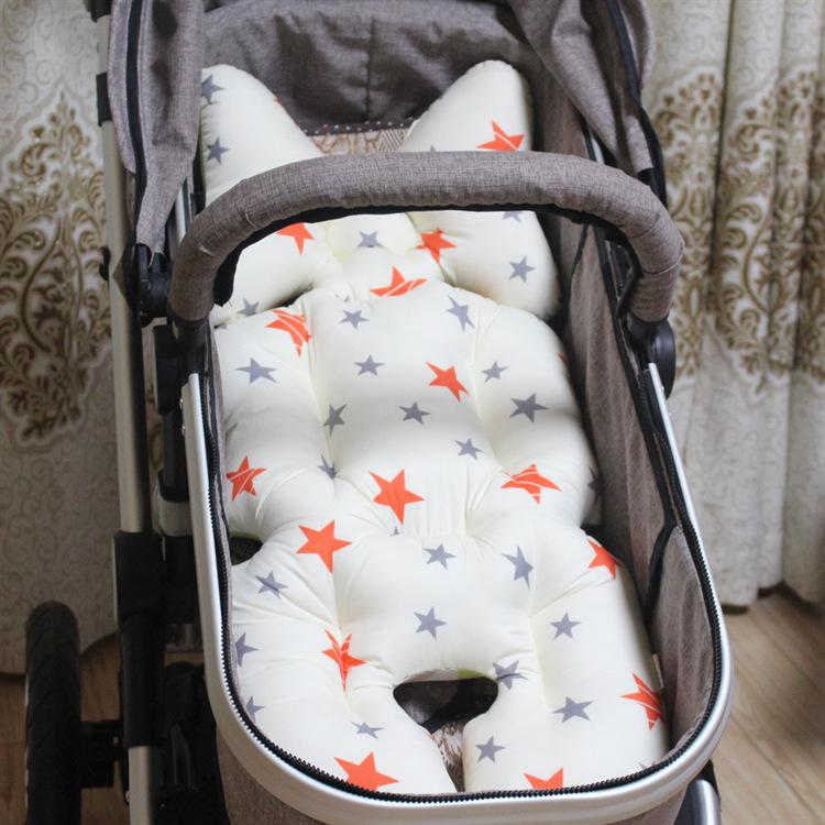 Baby Infant Safety Car Seat Stroller Soft Cushion Pad Liner Mat Head Neck Body Support Pillow