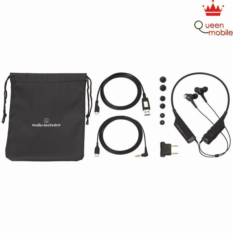 Tai nghe Audio-Technica in-ear Bluetooth chống tạp âm (Active Noise Cancelling) ATH-ANC40BT   [giá tốt] – Review và Đánh giá sản phẩm