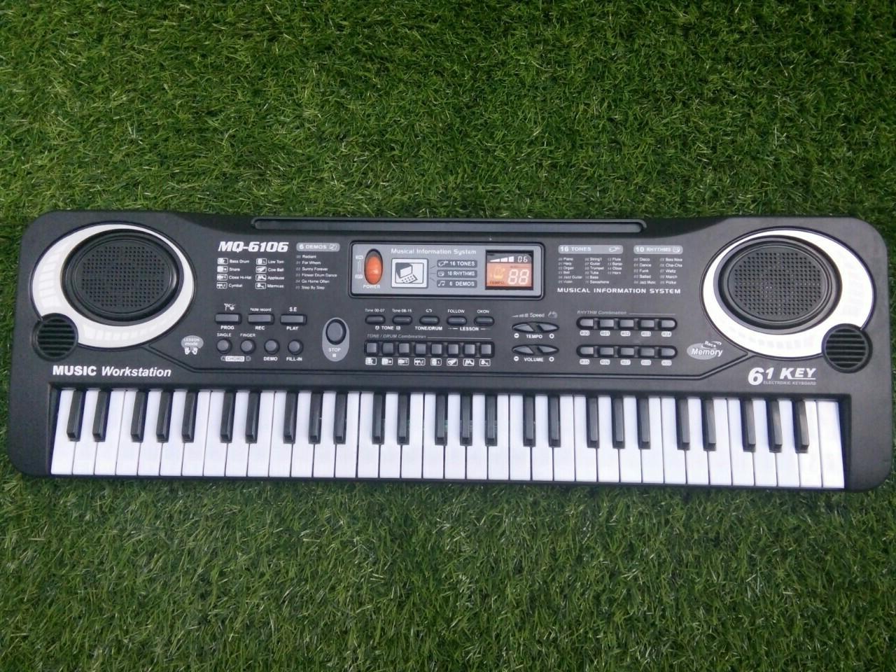 Hình ảnh Phát triển năng khiếu âm nhạc cho trẻ với đàn 61 phím MQ6106