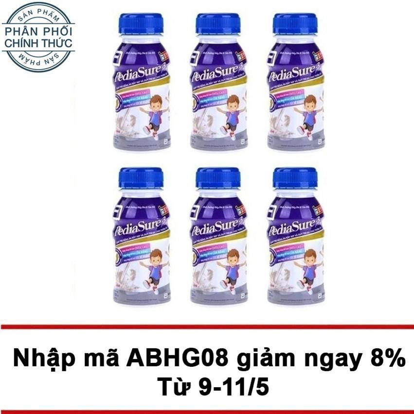 Bộ 6 Hộp Sữa Nước Pediasure Ba 3 237Ml Rẻ