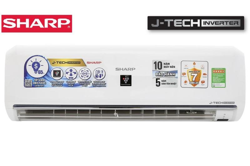 Bảng giá Máy lạnh Sharp Inverter 1.5 HP AH-XP13UHW