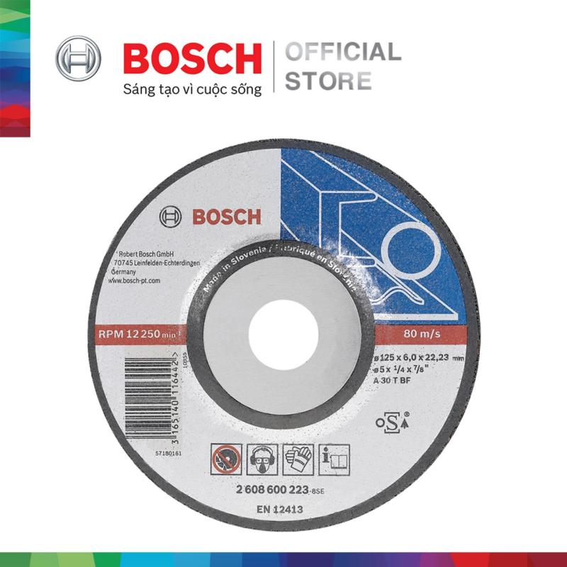 Đá mài Bosch 125x6x22.2mm (sắt)