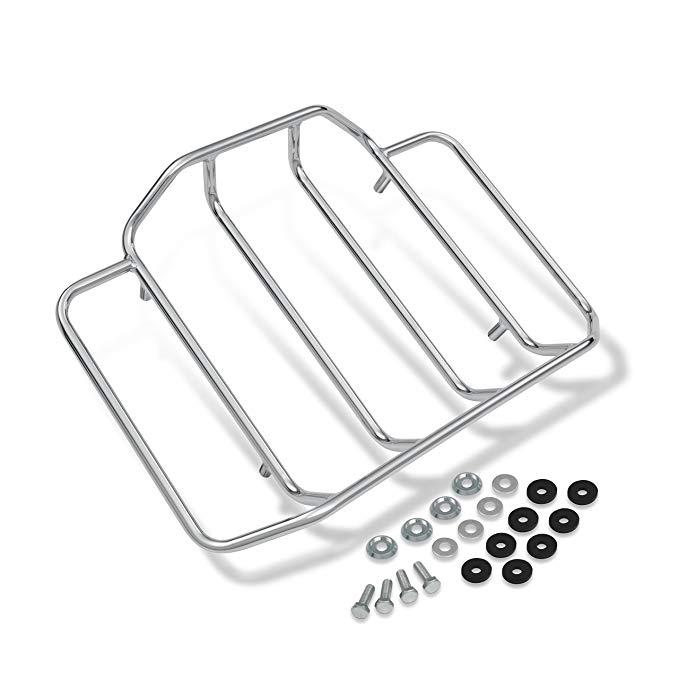 LUCKY-G Motorcycle Modification Rear Luggage Rack for Harley Classic Glide 84-17