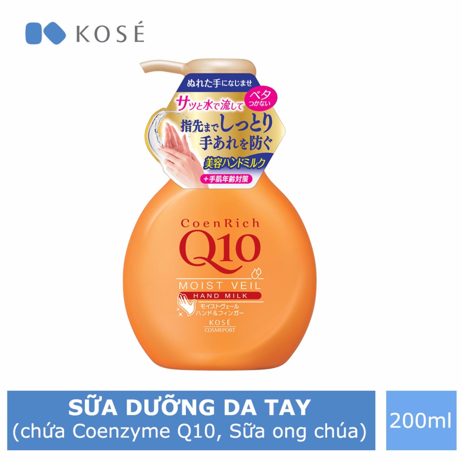 Cửa Hàng Sữa Dưỡng Chăm Soc Da Tay Kose Cosmeport Coenrich Moist Veil Hand Milk 200Ml Trực Tuyến