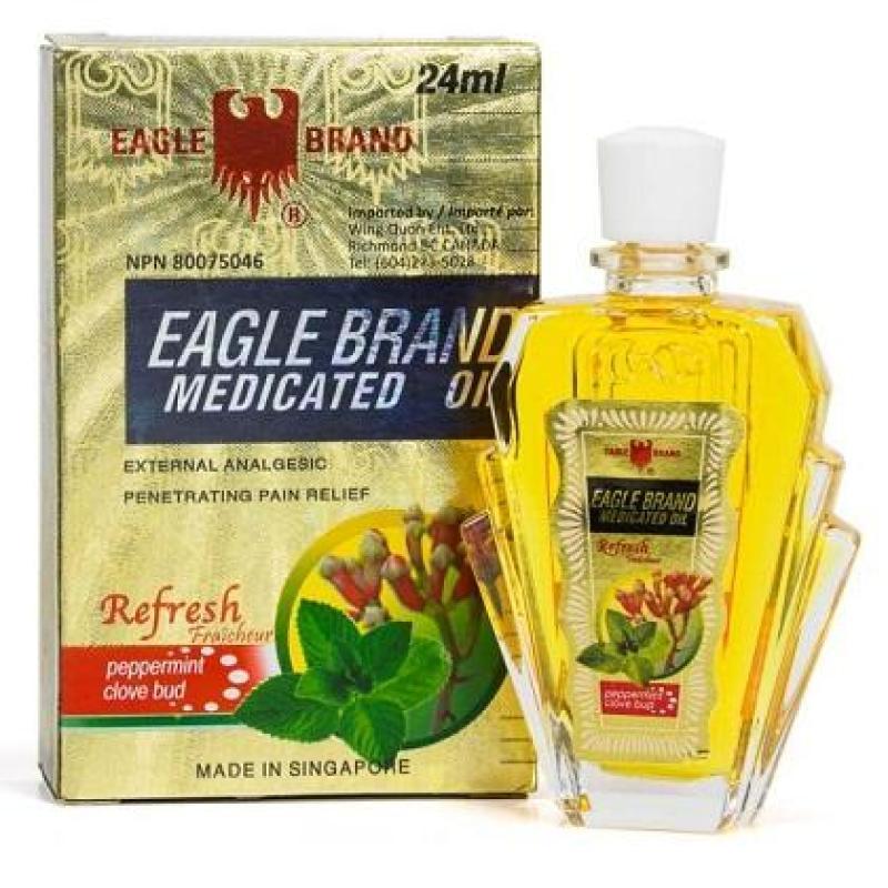 Dầu gió vàng con ó Eagle Brand 24ml (hàng chuẩn) tốt nhất