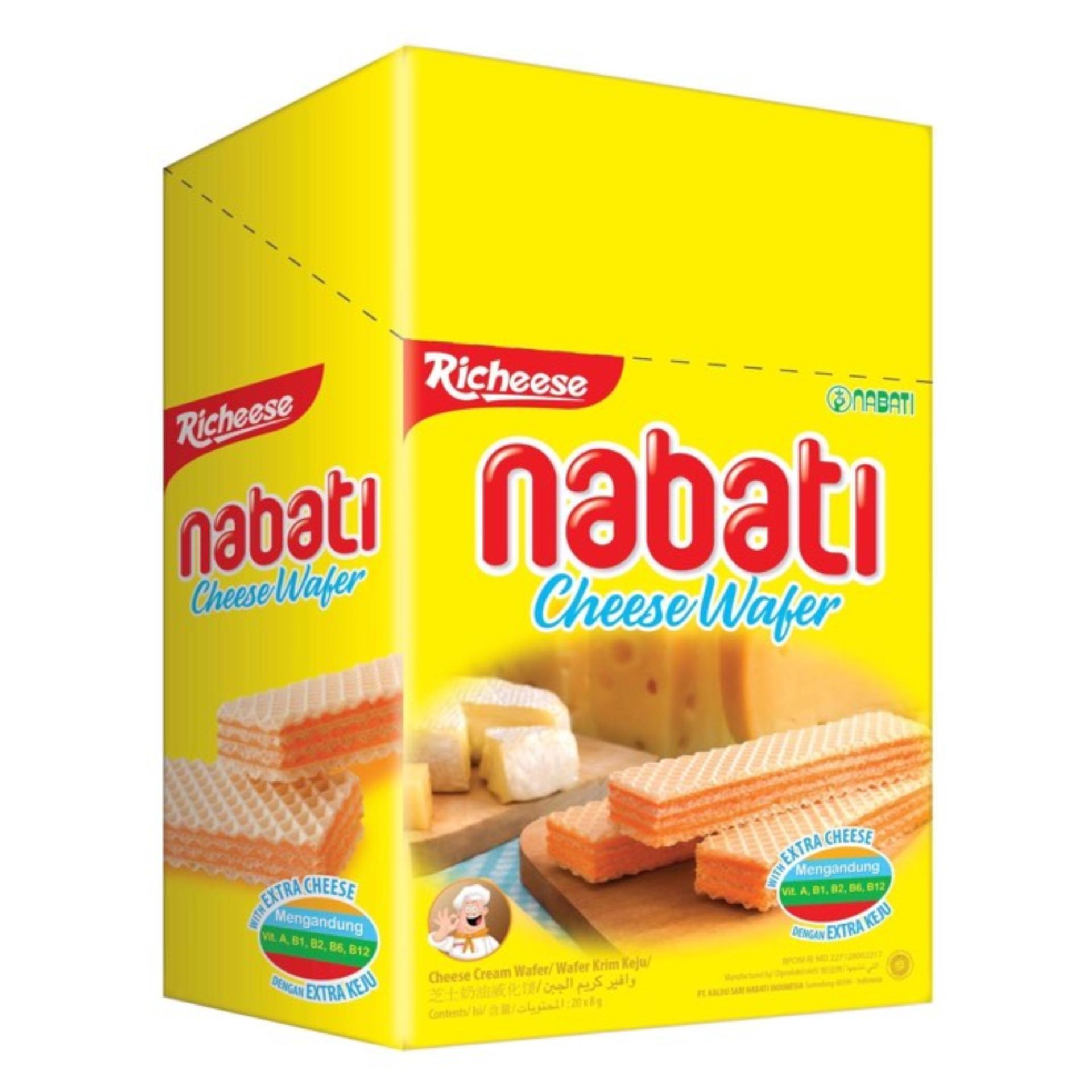 Hình ảnh Bánh xốp Nabati Kem Phô Mai hộp 340g