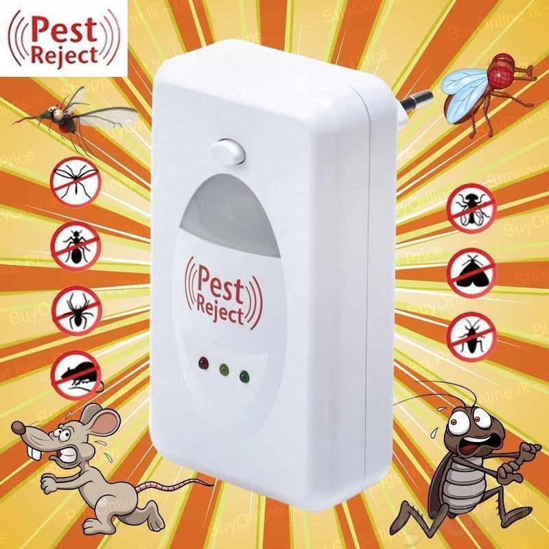 Máy Đuổi Chuột - Ruồi - Muỗi - Dán - Kiến - Côn Trùng Đa Năng