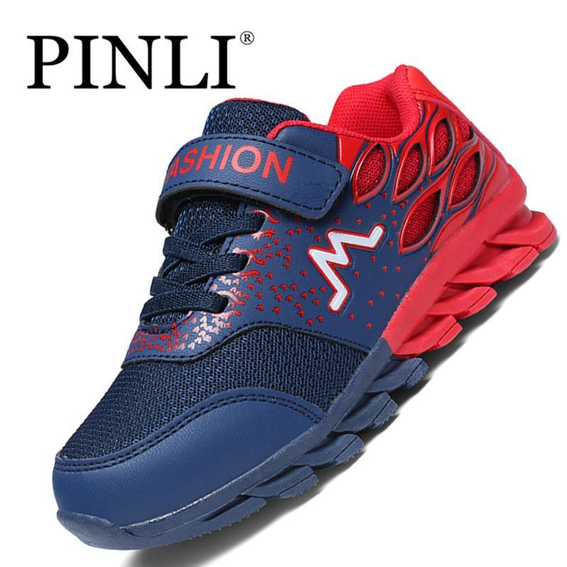 PINLI Anak Sepatu Fashion Sepatu Olahraga Anak-anak Sepatu Kanvas Suede  Imitasi Sepatu Kets Modis c9954a450e