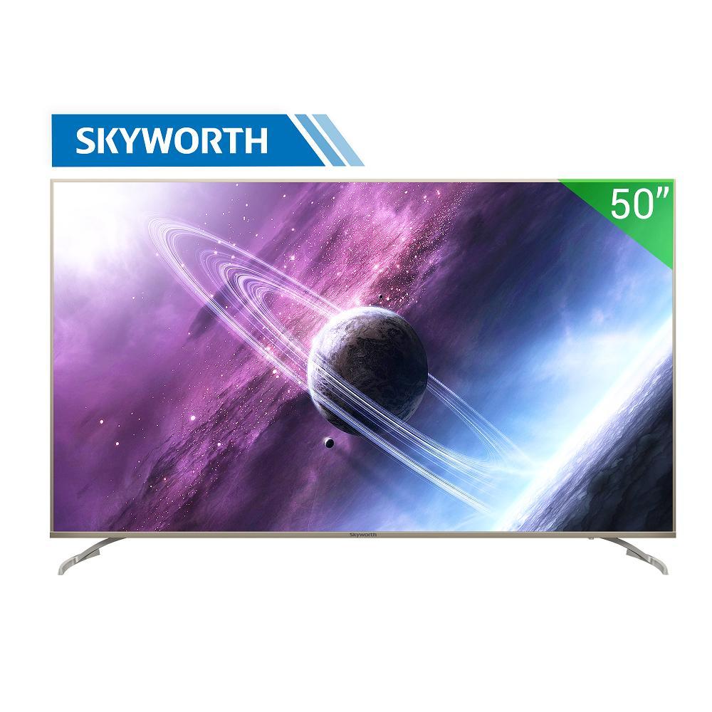Bảng giá Smart TV LED Skyworth 50 inch 4K Ultra HD - Model 50S7 (Bạc) - Hãng phân phối chính thức