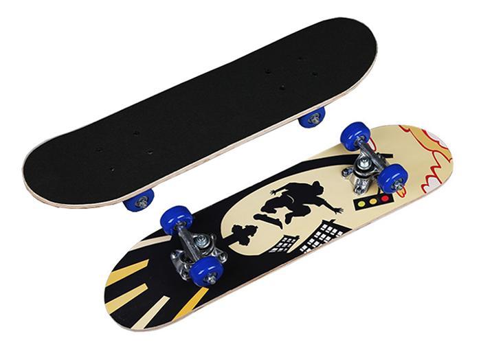 Ván trượt trẻ em Skateboard mặt nhám cỡ nhỏ (Đạt chuẩn thi đấu)