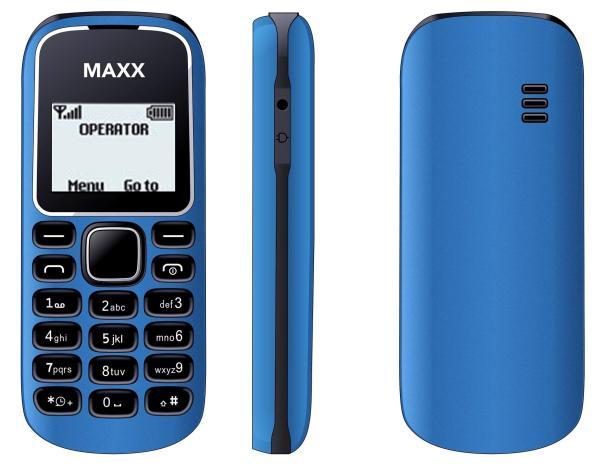 ĐTDĐ MAXX N1280 (Xanh) - Bảo hành 12 tháng - HÃNG PHÂN PHỐI CHÍNH THỨC