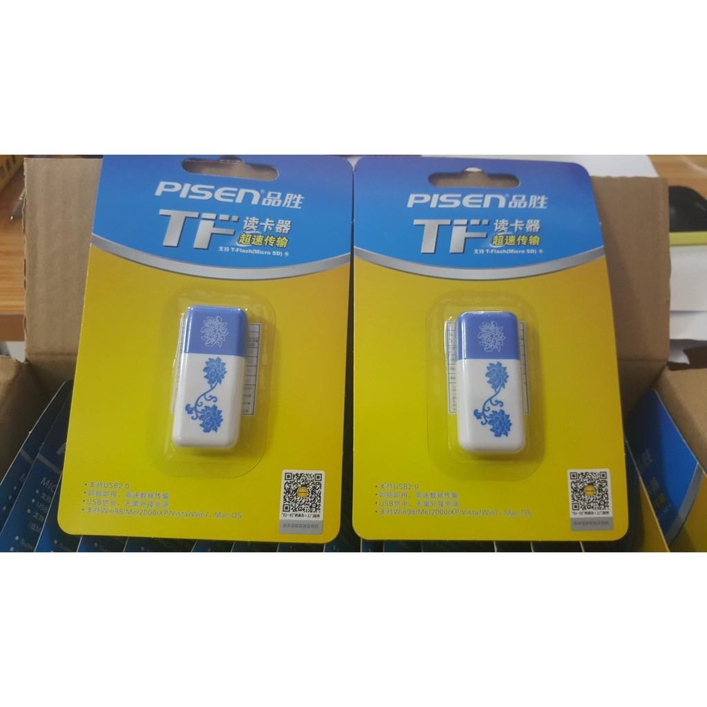 Ọc Thẻ Microsd Pisen USB2.0 (TSE-004)