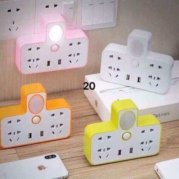 Hình ảnh Ổ cắm điện kèm đèn ngủ thông minh
