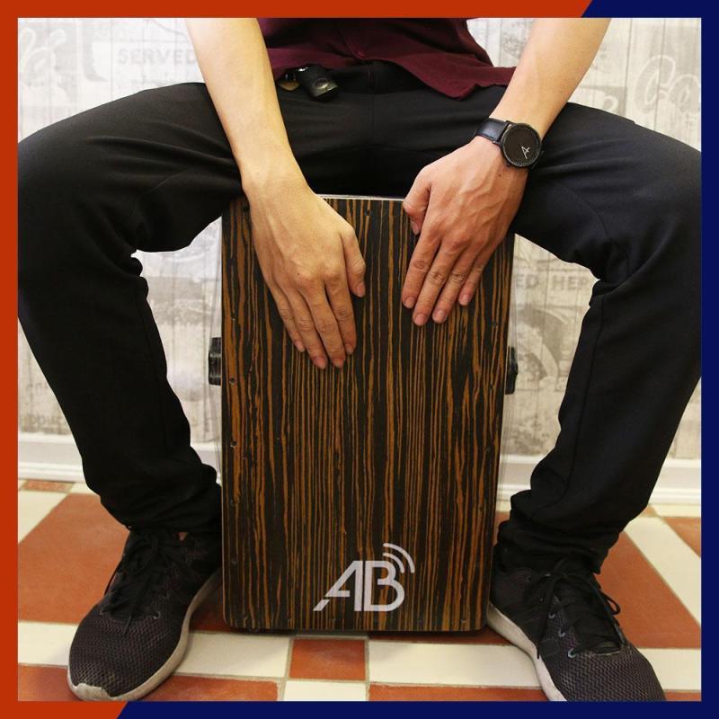 Cajon AB-D4 Bass chuẩn (Mặt đen)